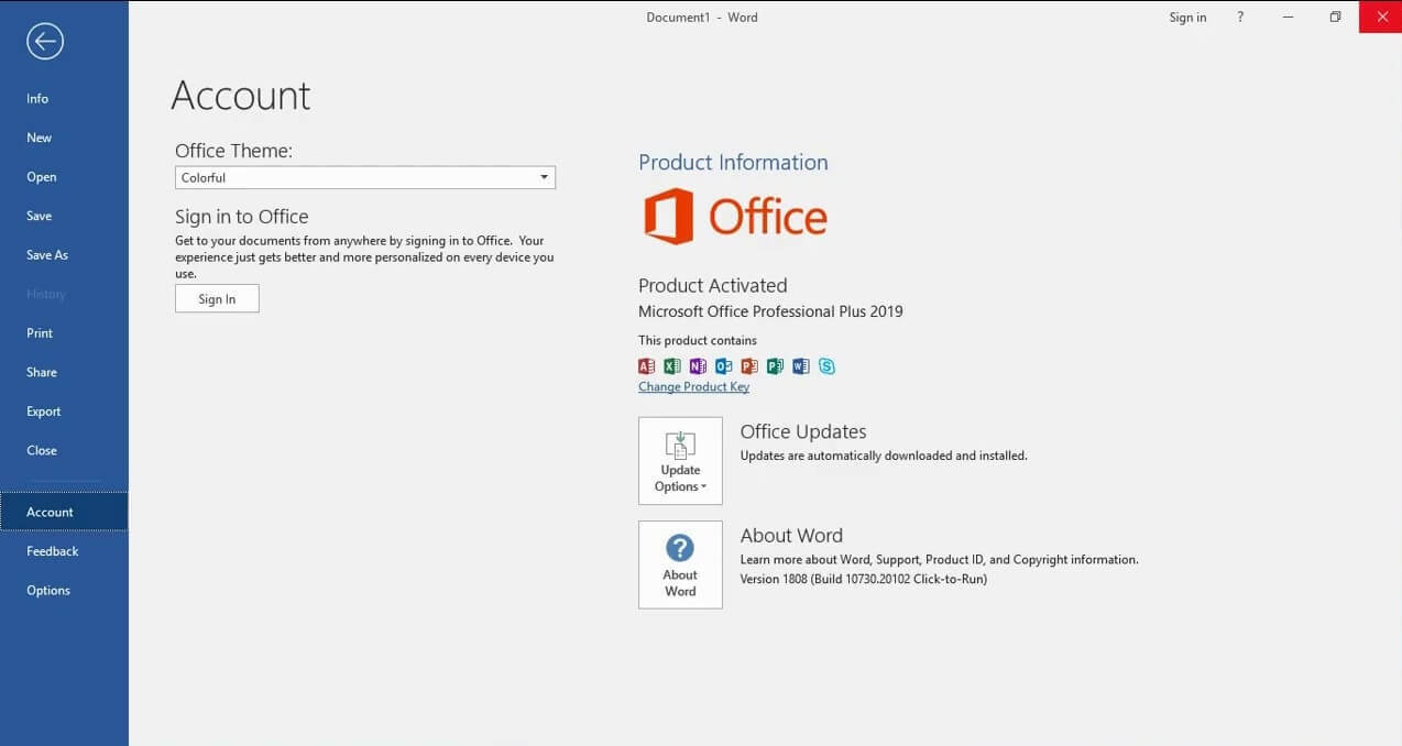 how to activate office